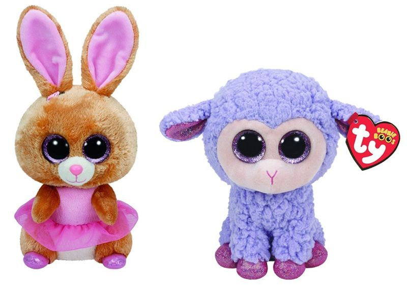 Ty Easter 2016 Beanie Boos Twinkle Toes the Ballerina bunny and Lavender the 8ded9774d5a