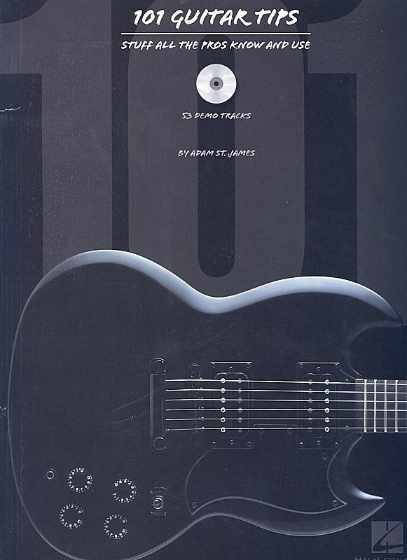 101 Guitar Tips By Adam St James Very Good Condition Book Soft Cover Music Guitar Tips Guitar Acoustic Guitar