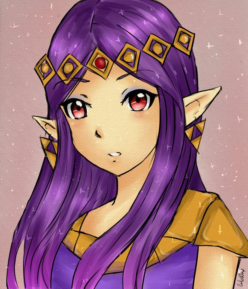 The Legend Of Zelda A Link Between Worlds Princess Hilda By
