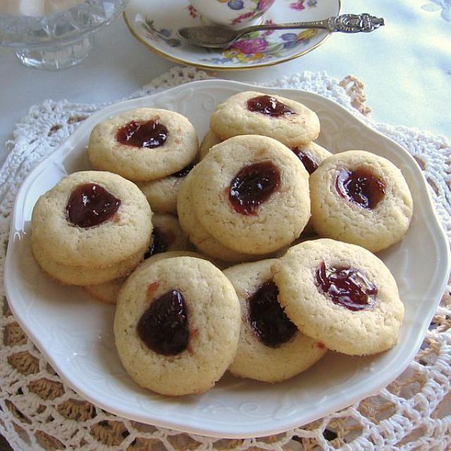 Christmas jelly cookies recipe