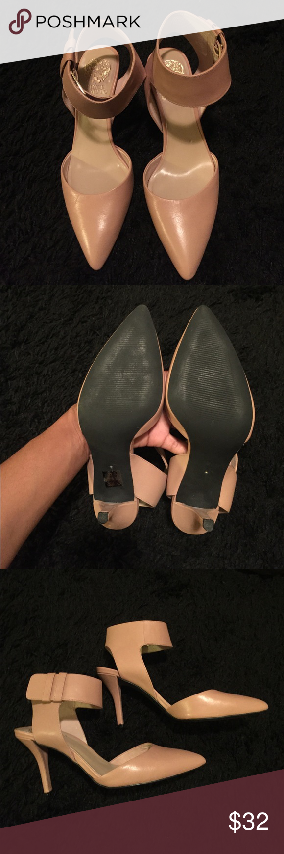 Vince Camuto Pumps Gently worn Vince Camuto Pumps, great for work! Fits like a 7.5. Vince Camuto Shoes Heels