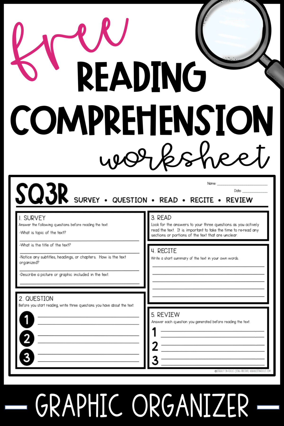 Maximize Reading Comprehension With Sq3r