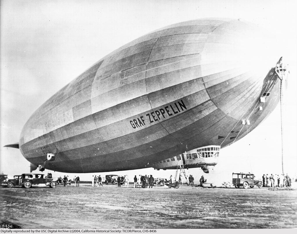 Graf Zeppelin, one of the safest flying machines in history ...