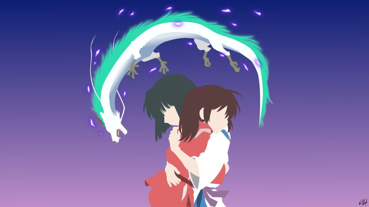 Spirited Away Minimalist by darkprinceah (With images