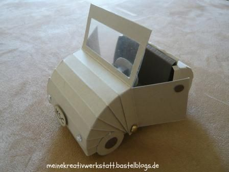 Autoverpackung, Stampin up