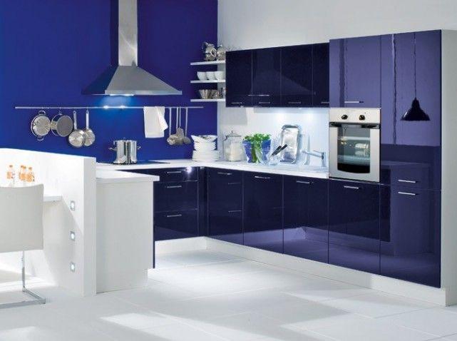 cuisine laque bleu blue pinterest laque bleu et
