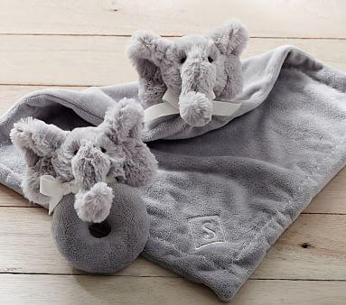 Elephant Plush Thumbie Amp Rattle Baby Elephant Nursery