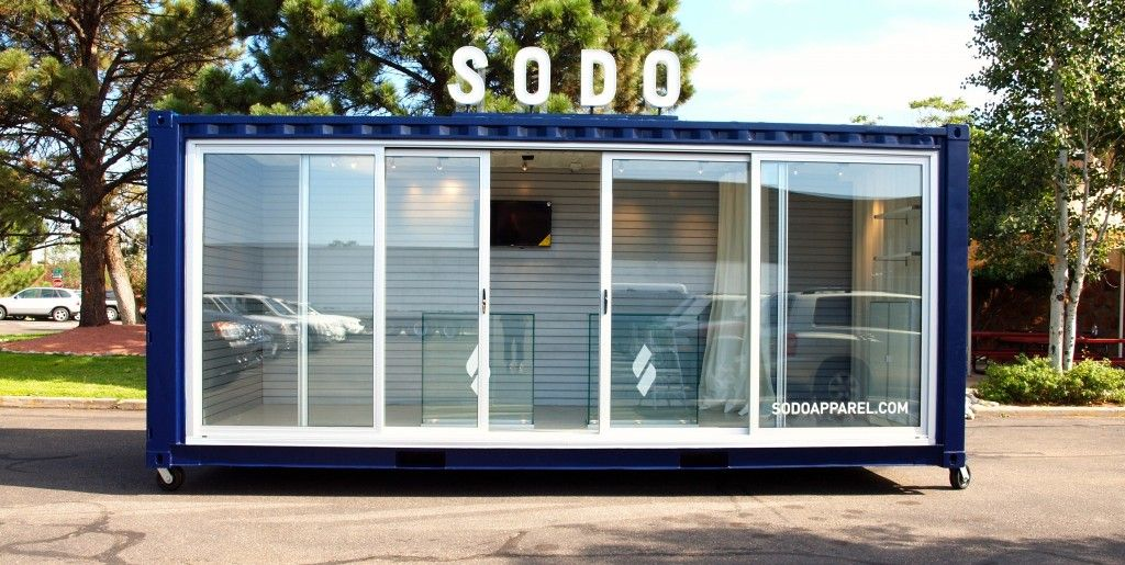 Custom Shipping Container Small Box Stores Pinterest