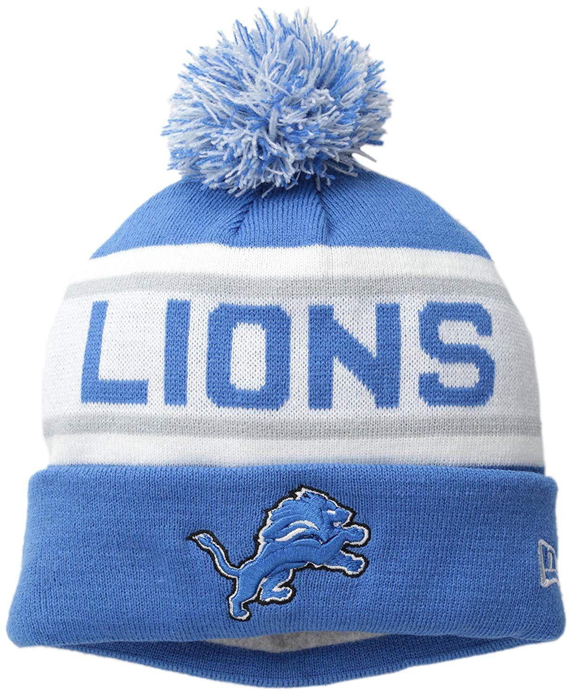ec90028f93e Amazon.com   NFL Detroit Lions Biggest Fan Redux Beanie   Sports   Outdoors