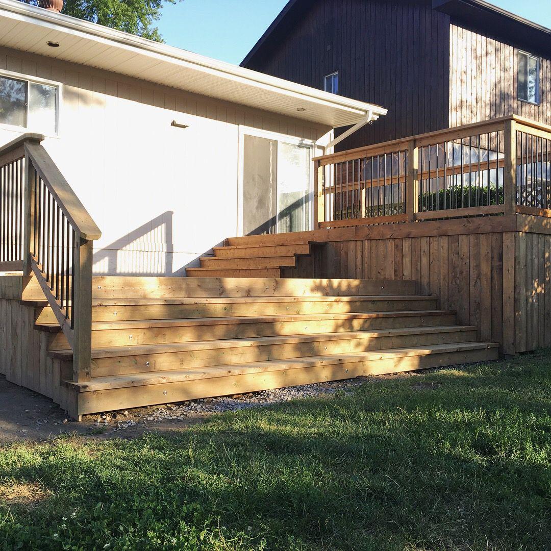 Toronto Landscaping Diy Deck Deck Building A Deck