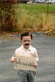 @Laura Golden, don't you think Tommy should do this for halloween???:)