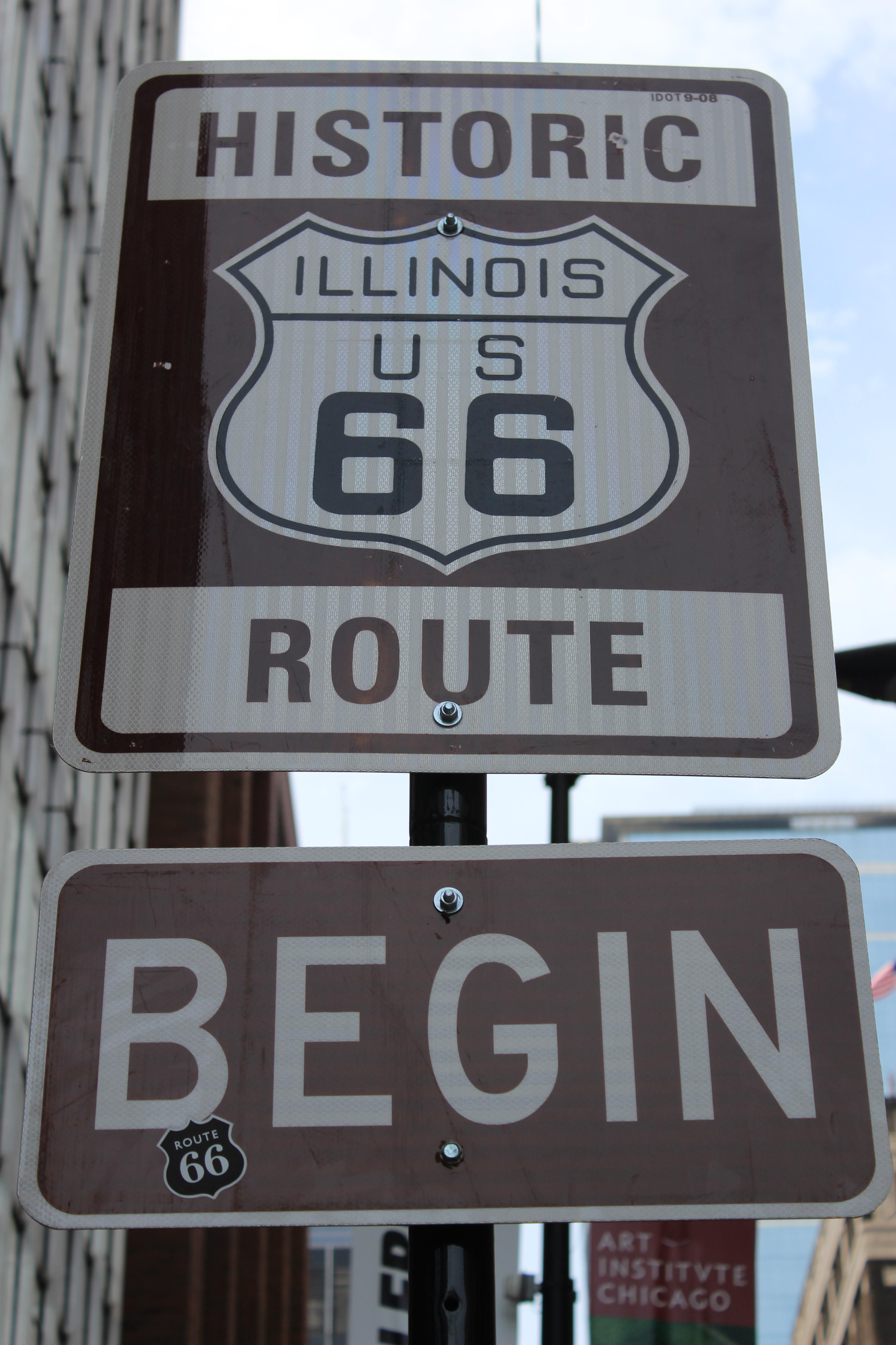 this is where it all begins.   get your kicks on route 66