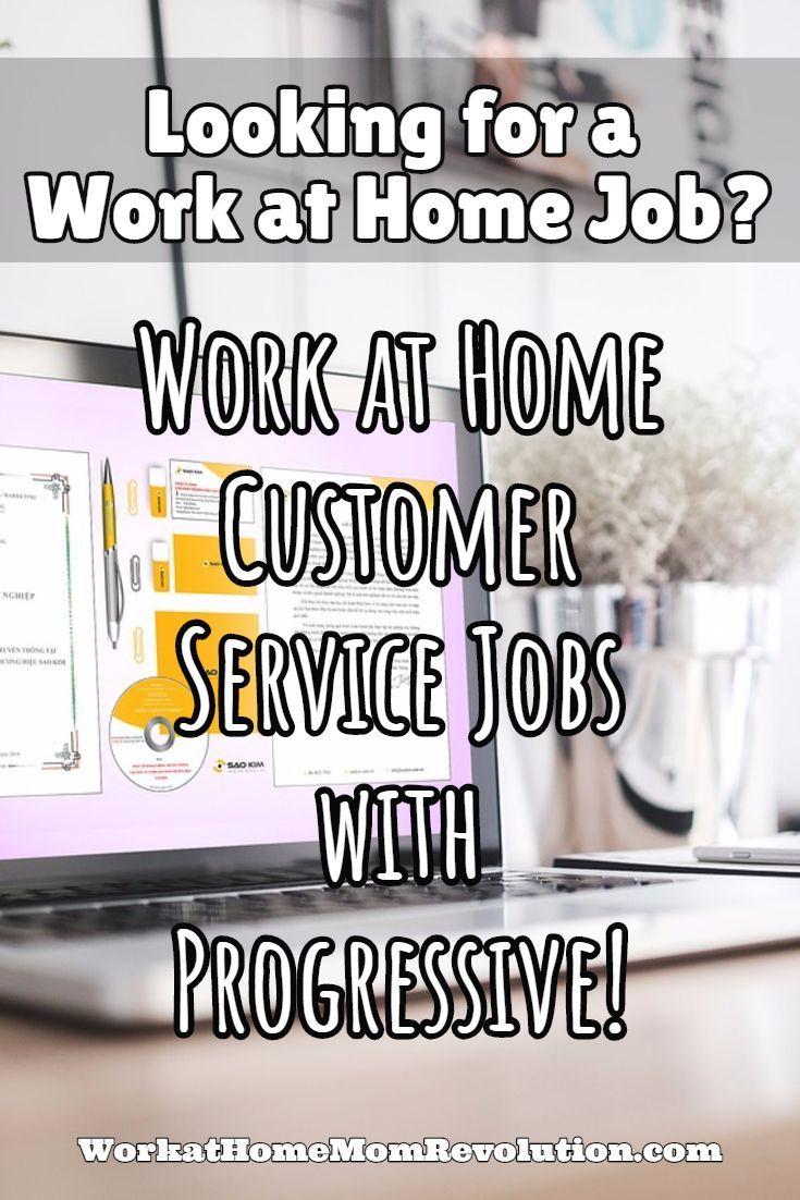 Work At Home Customer Service Jobs With Progressive Customer