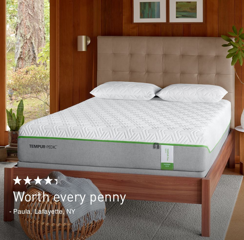 Closeout TEMPURFlex® Supreme Tempurpedic mattress