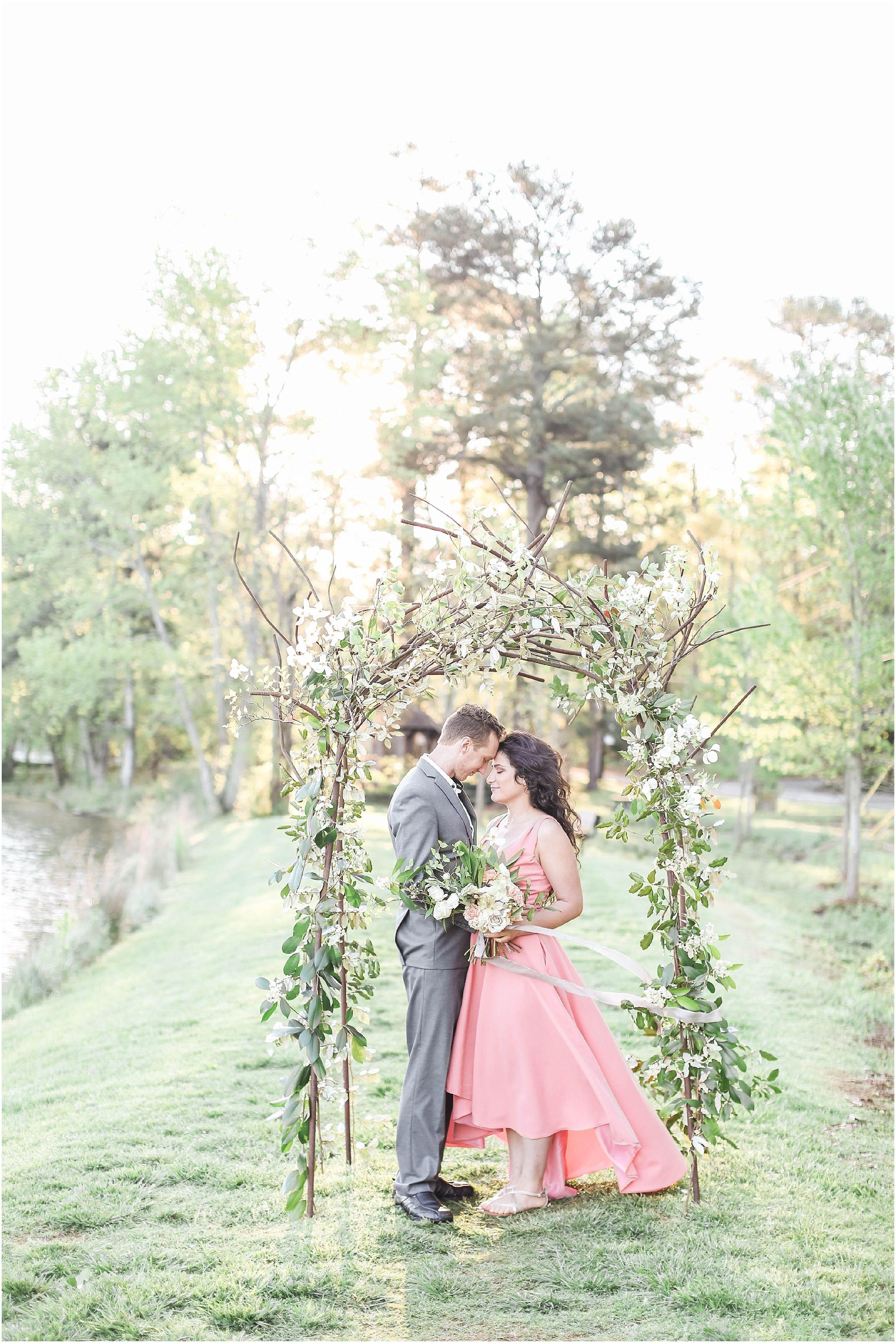 Atlanta Elopement Wedding Inspiration in Pine Lake Georgia ...