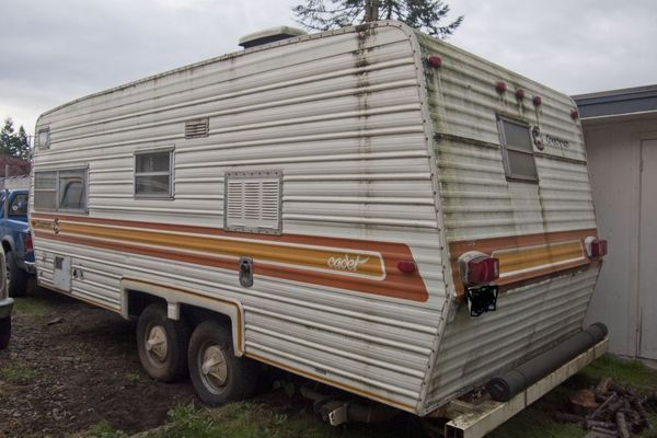 1978 Coachman cadet travel trailer in Enumclaw, WA (sells