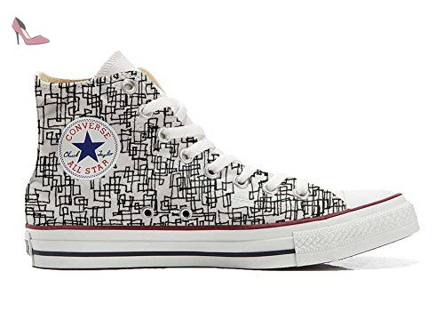 Converse Customized Adulte - chaussures coutume (produit artisanal) Abstract size 36 EU bDUK8N
