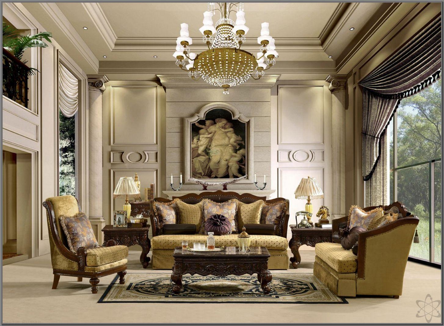 Desain Ruang Tamu Klasik Mewah Check More At Http Desainrumahkita