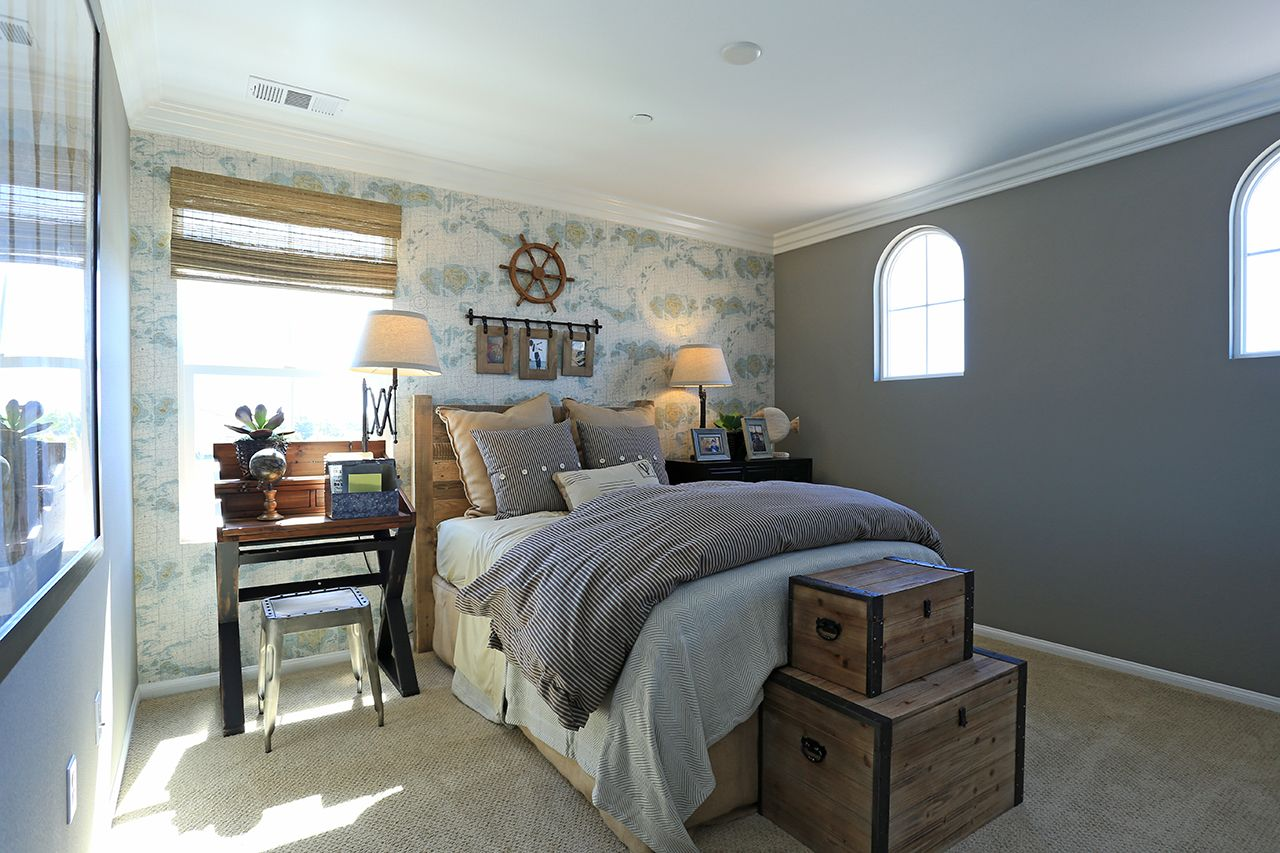 Bedroom in the Design 3 model at the District at RiverPark ... on New Model Bedroom Design  id=17830