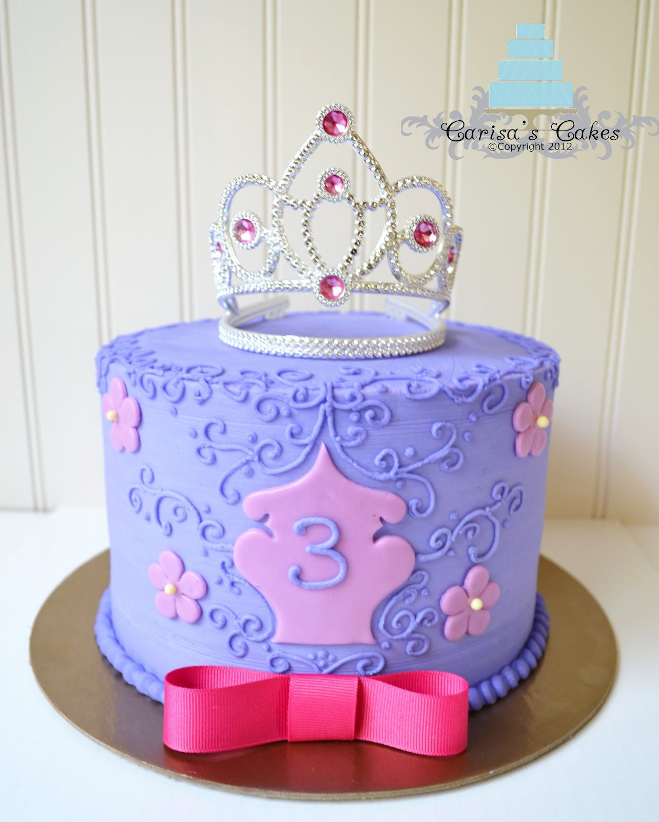 Carisa's Cakes: Princess Themed Cake