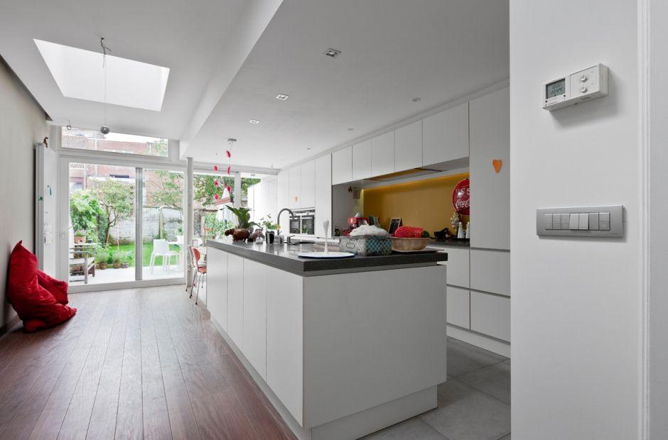 afbeeldingsresultaat voor smalle rijwoning renoveren - keuken, Deco ideeën