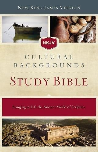 Hardcover Nkjv Cultural Backgrounds Study Bible Hardcover Red Letter Edition Bringing To Life The Ancient World Of Scripture Bible Study Bible Nkjv