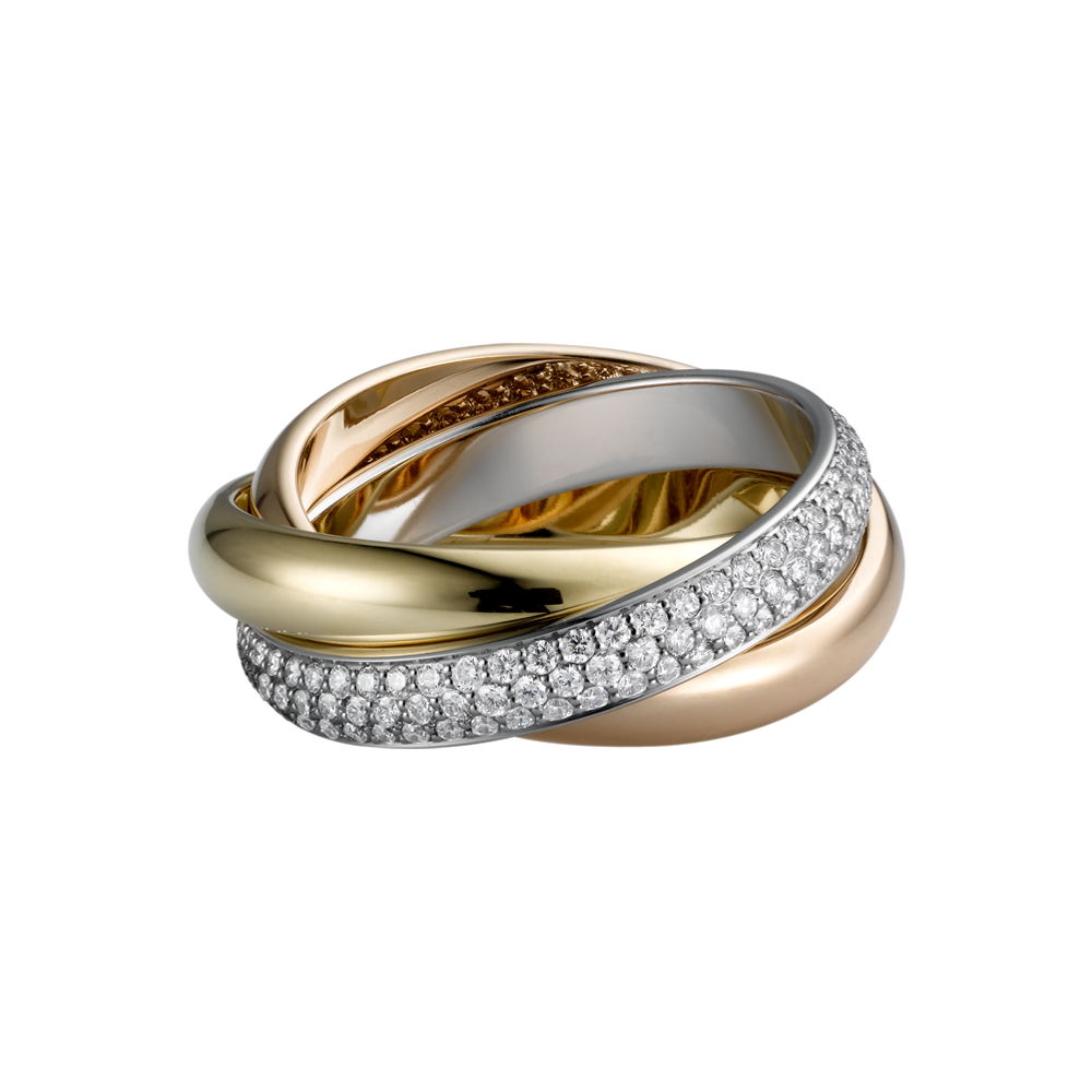 Cartier Trinity Wedding Ring: Trinity De Cartier