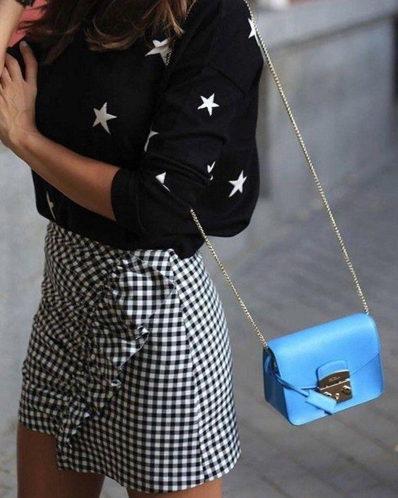 Falda de Zara temporada Otoño 2016