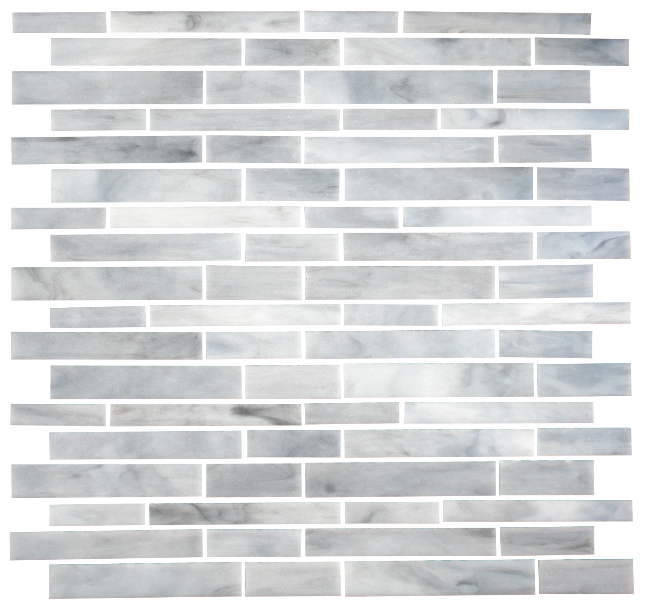 Oyster Shell Gray Handcut Stained Glass Tile | Kitchen Plan - In ...