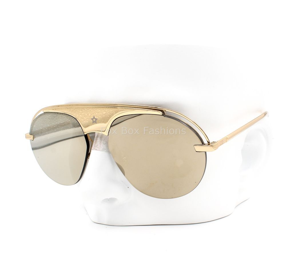 346ce92427ebe CHRISTIAN DIOR Revolution Dio(r)evolution Sunglasses Gold Mirror Flash Lens   fashion  clothing  shoes  accessories  womensaccessories ...