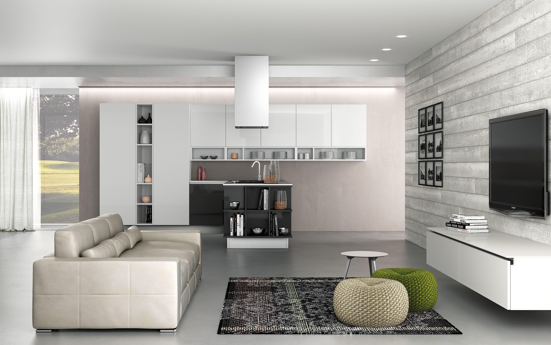 Berloni Cucina B-50 | Berloni, Cucina soggiorno e Idee per ...