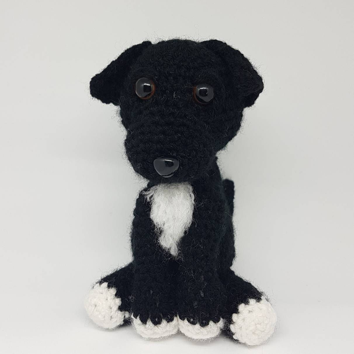Border Terrier Knitted Brooch Super Cute