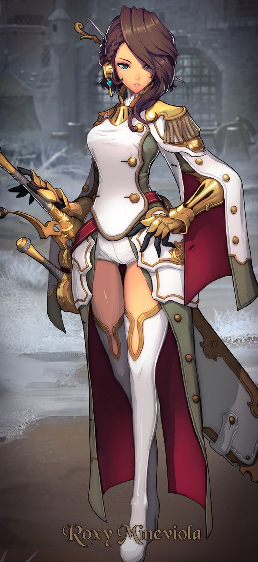 Sometimes i wonder if we all know what our objectives are - Anime female warrior ...
