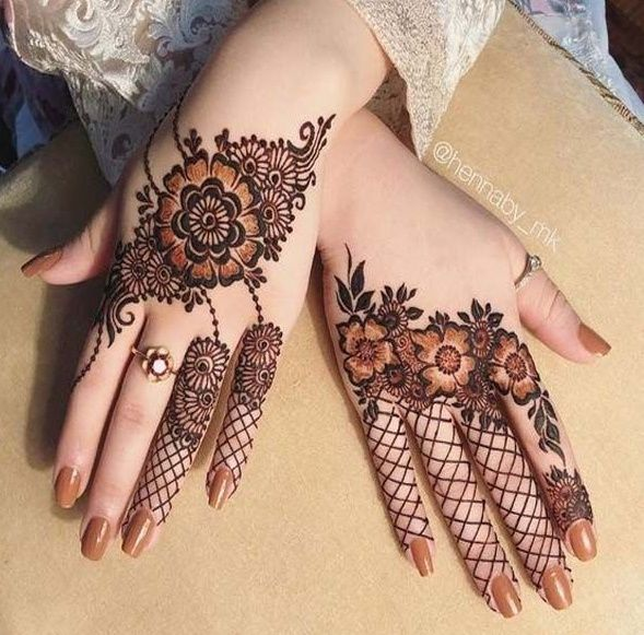 51 Beautiful Mylanchi designs for hands || Kerala mehndi designs
