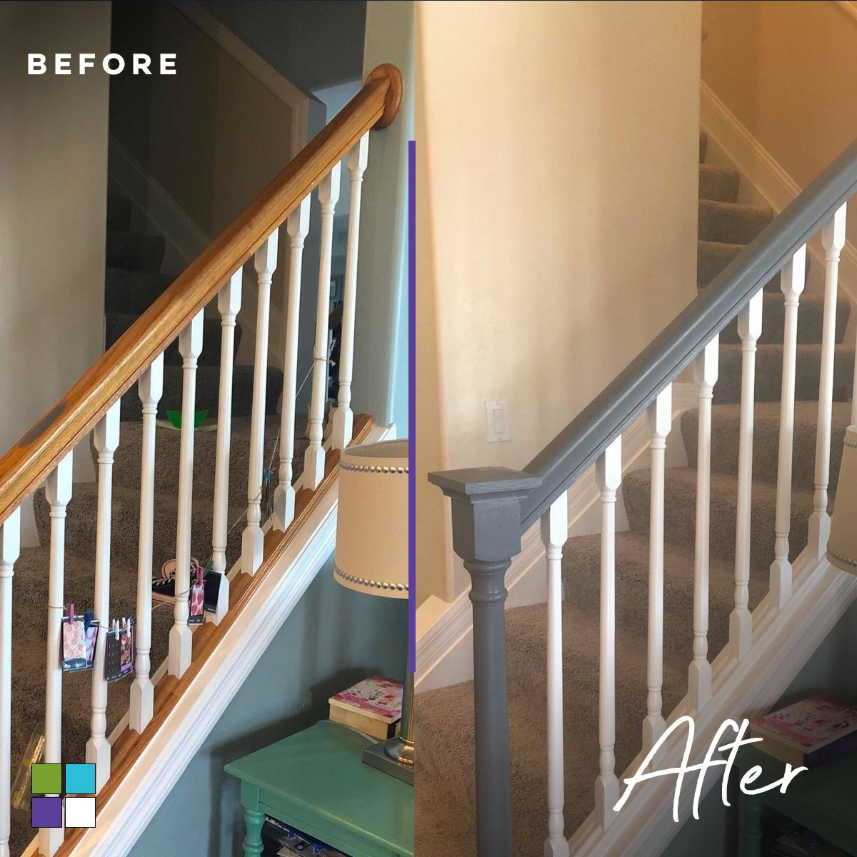 Best Make Your Stair Railings Look Brand New Without Striping 400 x 300