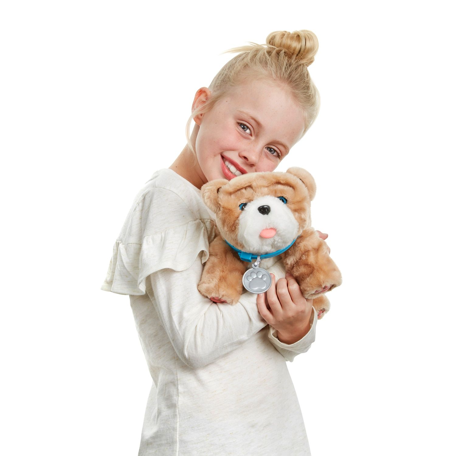Little Live Pets Rollie My Kissing Puppy Pets Live Rollie Puppy Little Live Pets Teddy Bear Stuffed Animal Puppies