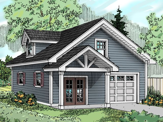 Plan 13024 Just Garage Plans Garage office – Just Garage Plans