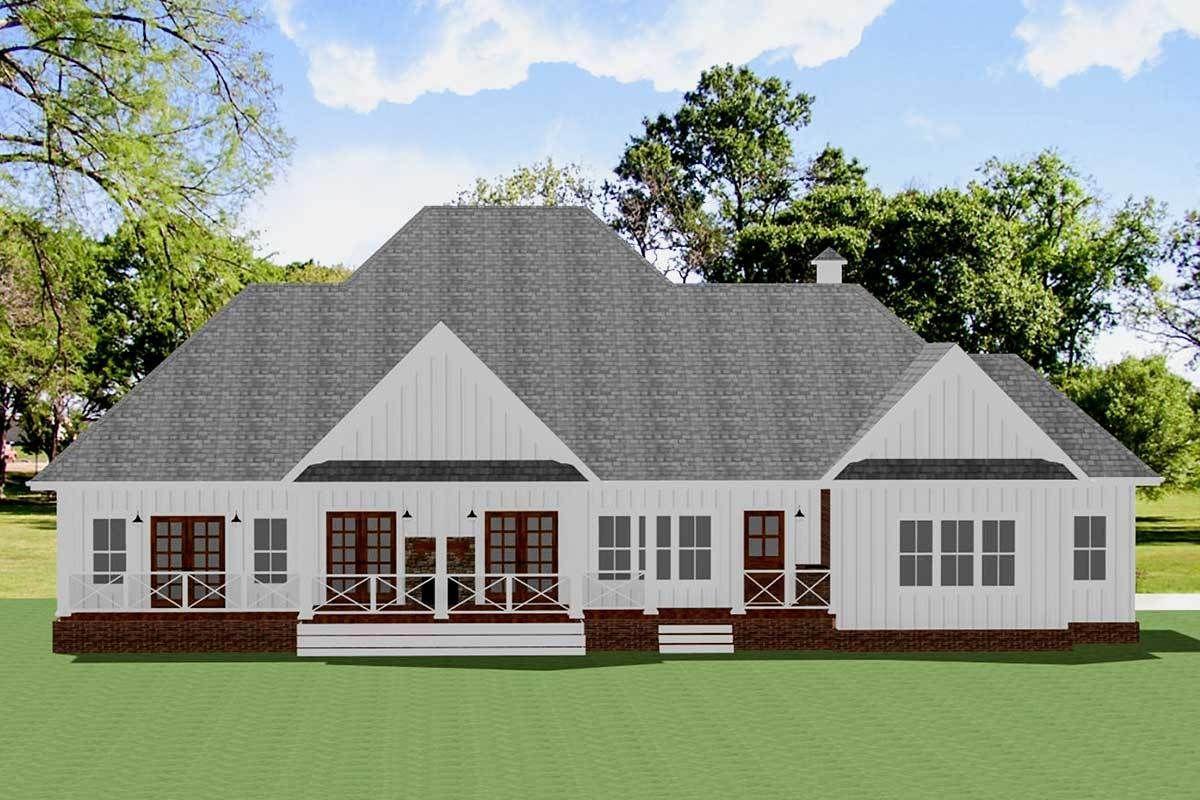 21+ 4 gable farmhouse ideas in 2021