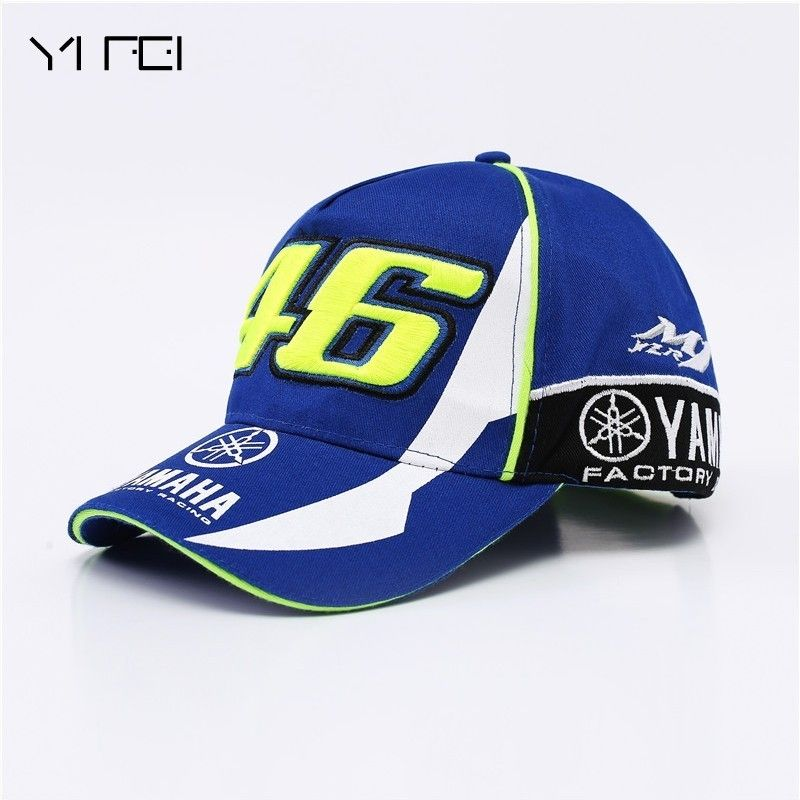 5e9adcb59911d7 YIFEI HOT Car Motocycle Racing Moto Gp Rossi Vr 46 The Doctor Embroidery  Anapback Baseball Cap Free Casual YAMAHA Baseball Caps