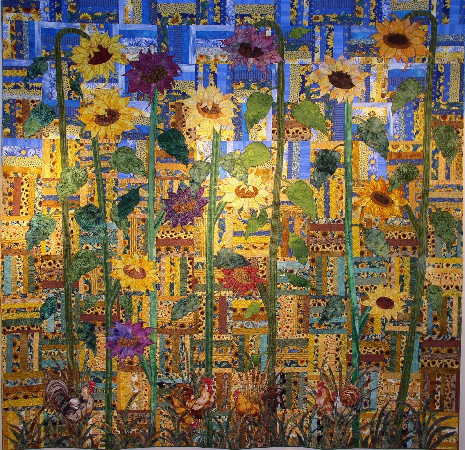 Sunflower Patch The 25 Best Sunflower Quilts Ideas On Pinterest