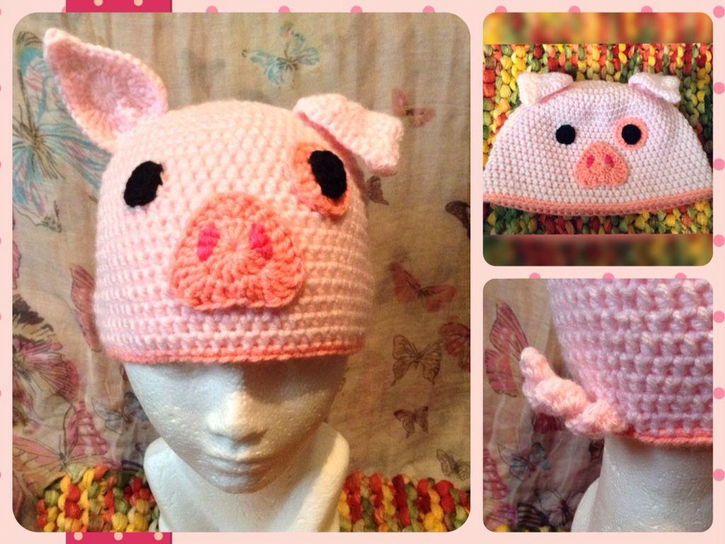 4b2b4d66f32c7 Pato gravity falls waddles the pig crochet hat crochet beanie lanikrm jpg  1024x768 Waddles gravity falls