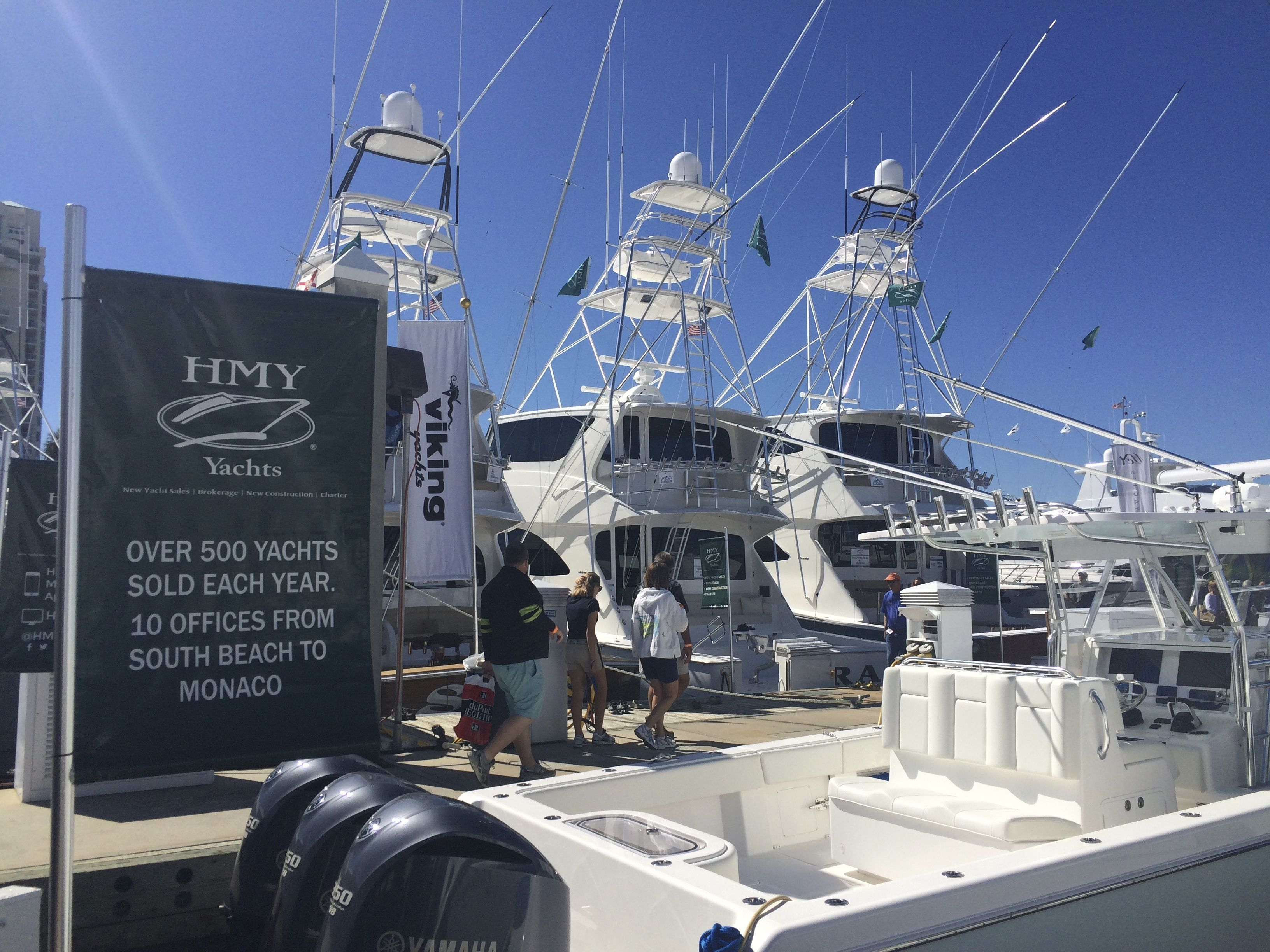 Fort Lauderdale International Boat Show October 30