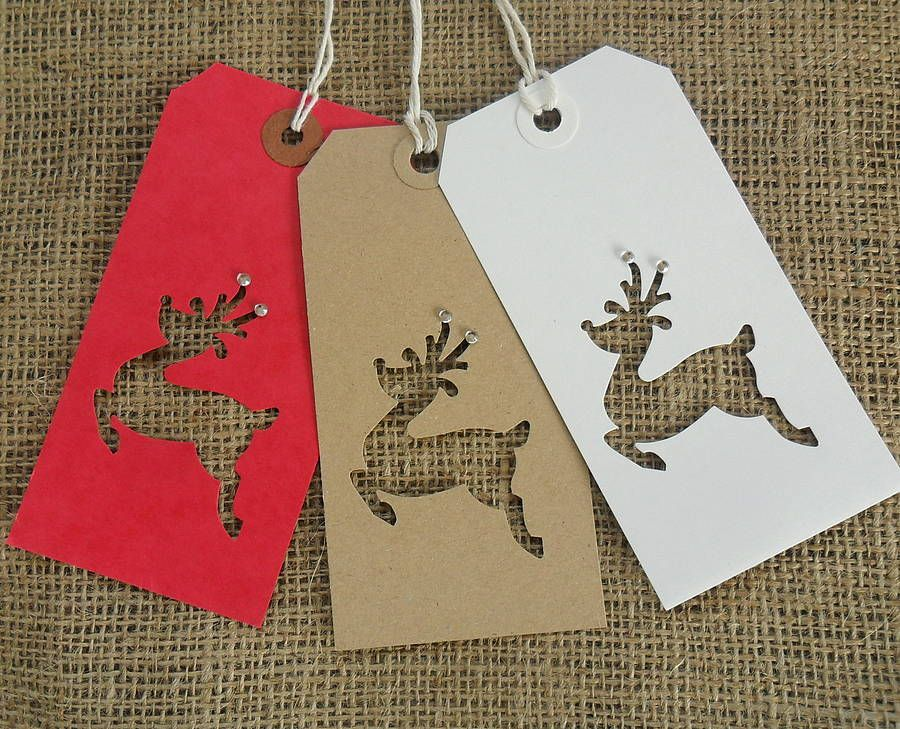 Lovingly handmade Christmas gift tags.Available in four options ...