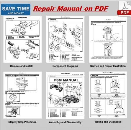 Suzuki Forenza 2007 Repair Manual | Repair manuals, Manual ...