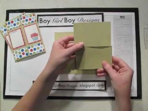 Never Ending Card Template Using A 4 1 4 X 5 1 2 Card Never Ending Card Card Making Tutorials Card Tutorials