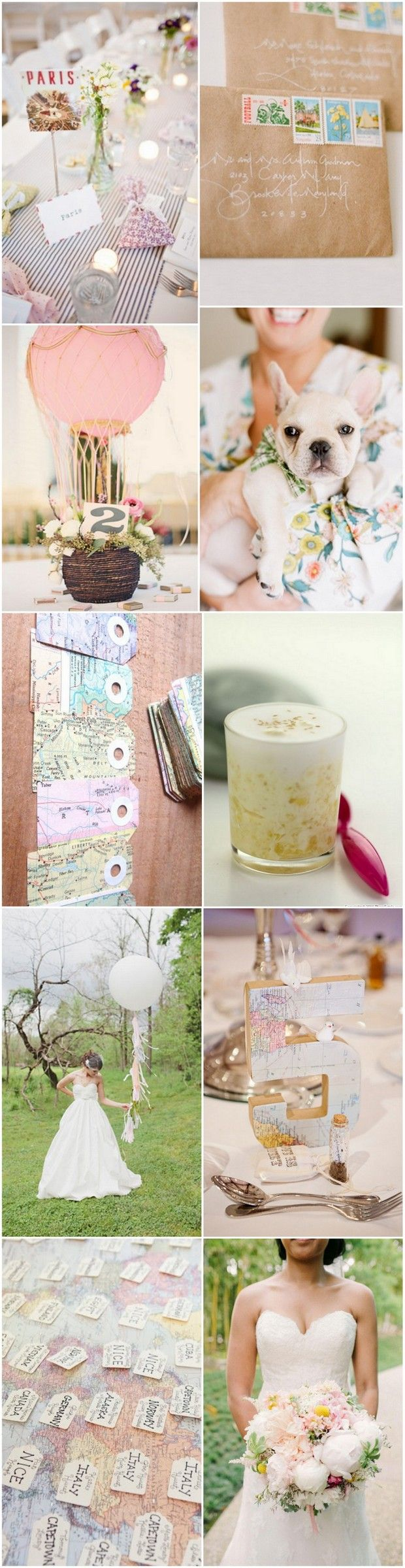 Dreamy Destination & Travel Themed Wedding Inspiration | weddingsonline