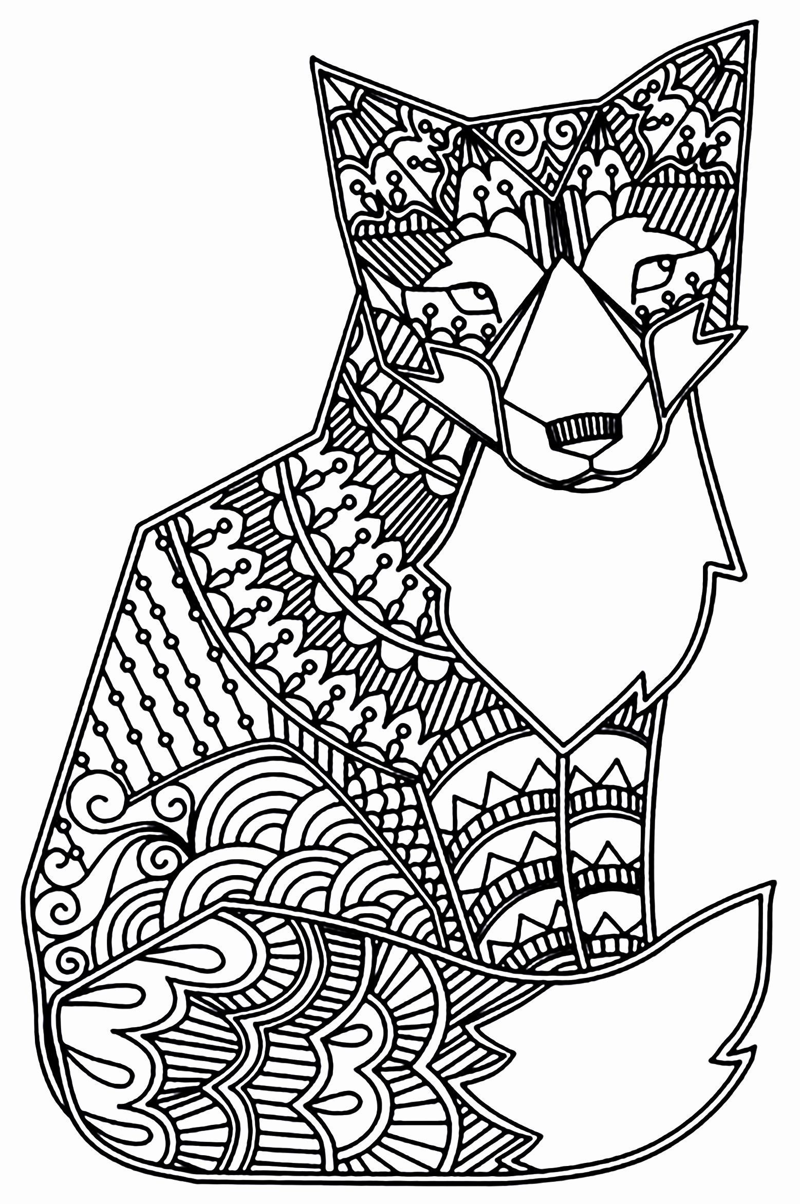 Pin On My Coloring Page Book Ideas In 2021 Fox Coloring Page Animal Coloring Pages Mandala Coloring Pages