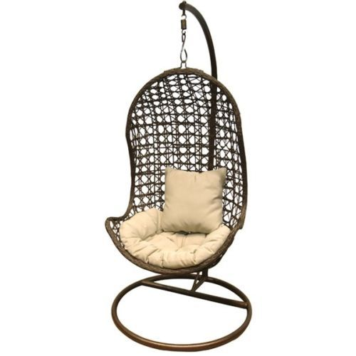 Al Fresco St Tropez Hanging Chair And Cushion Swinging Rrp 299 Hanging Chair With Stand Swinging Chair Pod Chair