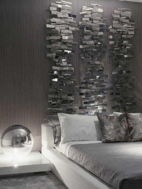 winter decor trend 34 stylish silver accessories and decorations rh pinterest com