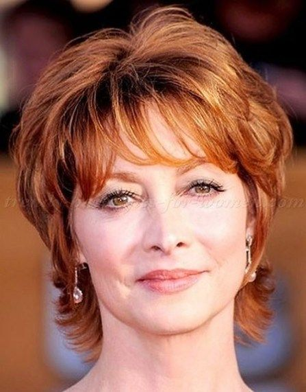 Short Hairstyles for Women Over 50 #shorthairstylesforwomen